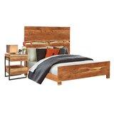 Evgenia Queen Solid Wood Standard 2 Piece Bedroom Set by Loon Peak