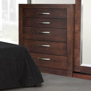 REZ Furniture Mandir 5 Drawer Dresser