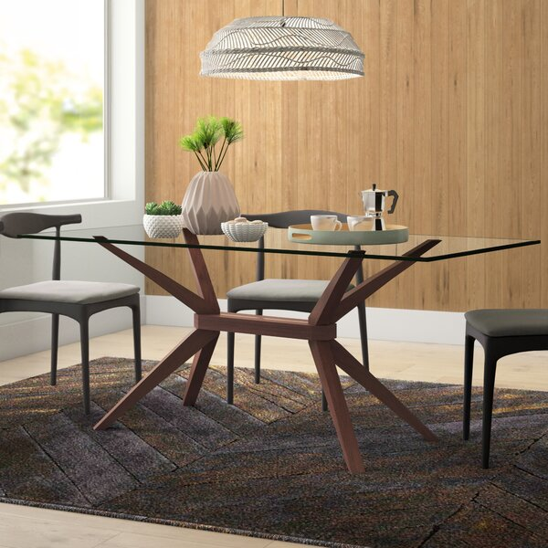 Modern Contemporary Glass Table Base Allmodern