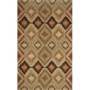 Madison Hand-Hooked Brown Indoor/Outdoor Area Rug