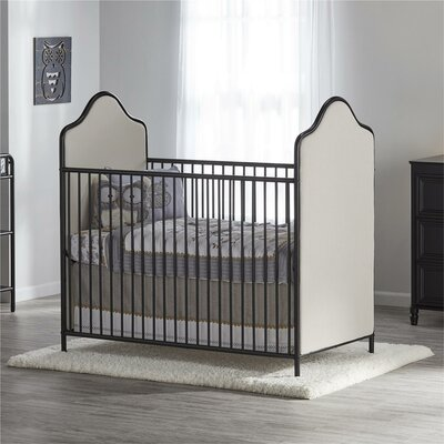 Little Seeds Piper 2-in-1 Convertible Crib Color: Black
