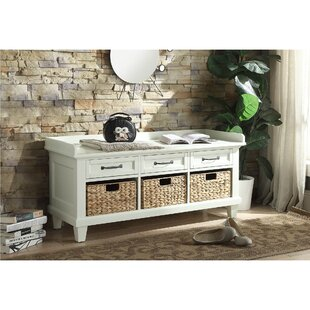 Alcott Hill Caelan Newcastle Storage Bench