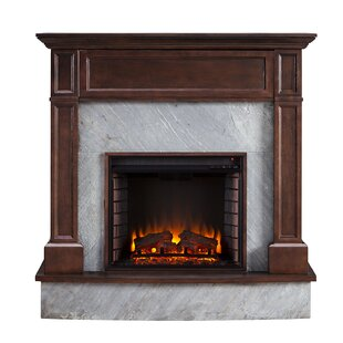 Cooley Electric Fireplace by Alcott Hill
