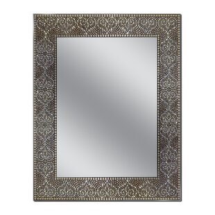 Seiler Moroccan Mosaic Wall Mirror By World Menagerie