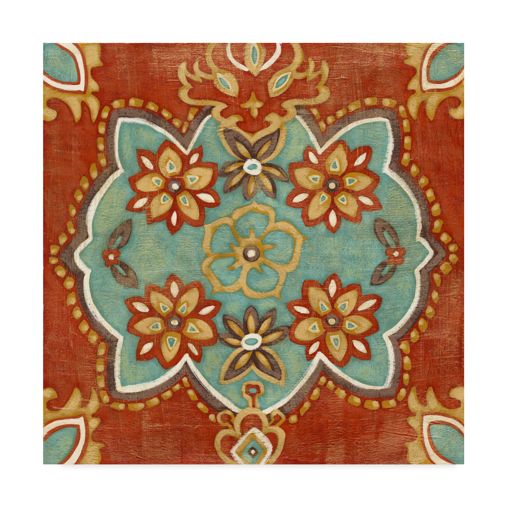 Charlton Home Small Turkish Spice Iv Graphic Art Print On Wrapped Canvas Wayfair