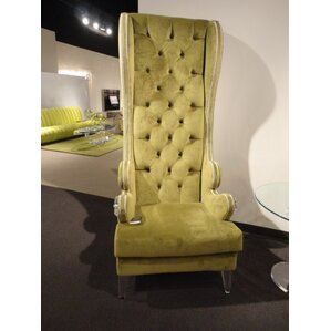 grand acryliwing lounge wingback chair