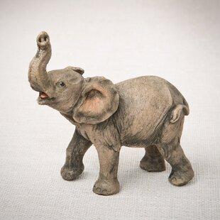 Incroyable Aruna Natural Looking Elephant Figurine