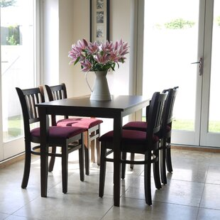 Keira Dining Set With 4 Chairs (Set Of 5) By Ophelia & Co.