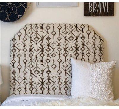 Zoomie Kids Hooley Beveled Twin/Twin XL UpholsteredPanel Headboard