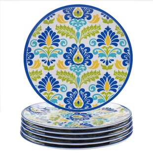 Hoehn Melamine Dinner Plate (Set of 6)