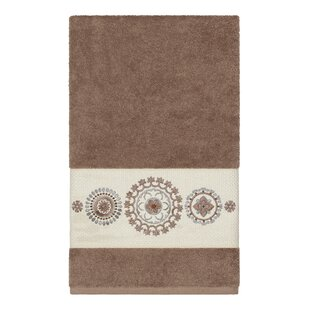 Roeder Embellished Turkish Cotton Bath Towel