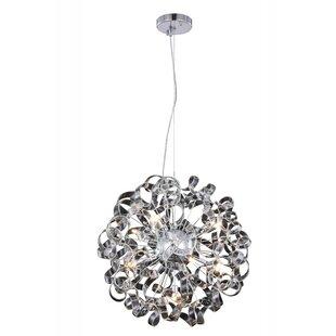Orren Ellis Maroneia 9-Light Globe Chandelier