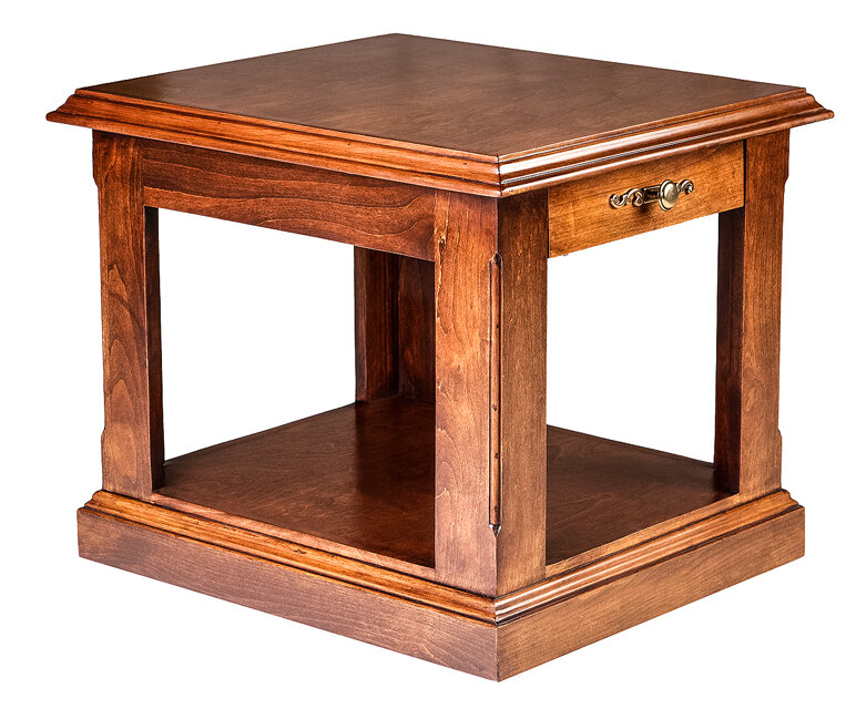 "Loon Peak Meeks 26"" End Table with Storage 