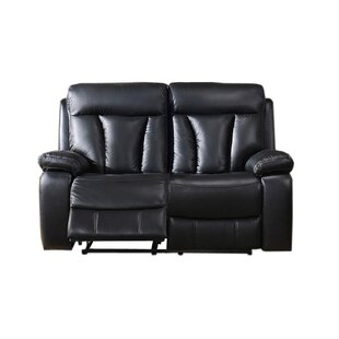 Muoi Power Reclining Loveseat by Red Barr..