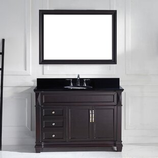 Kace 49 Single Bathroom Vanity Set Mirror by Darby Home Co