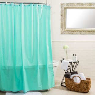 Ascent Microfiber Single Shower Curtain