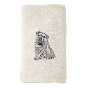 Bulldog 100% Cotton Hand Towel Set (Set of 2)