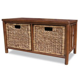 Read Reviews Annapolis Bamboo Storage Bench ByBay Isle Home