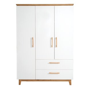 Finn 3 Door Wardrobe By Roba