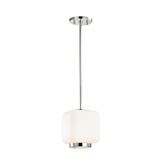 Hoopes 1-Light Square/Rectangle Pendant by Wrought Studio