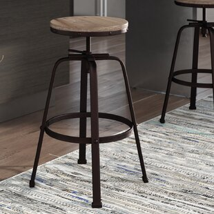 Mullings Adjustable Height Bar Stool