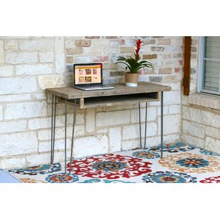 Reviews Marjorie  Desk with Storage By Union Rustic