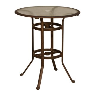 Ross Glass Bar Table by Fl..