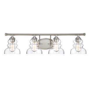 Top Reviews Jayda 4-Light Vanity Light By Beachcrest Home
