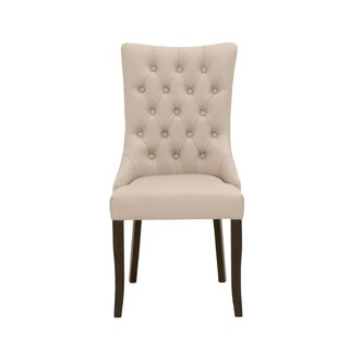 Clanton Button Tufted Upholstered Dining Chair (Set of 2)