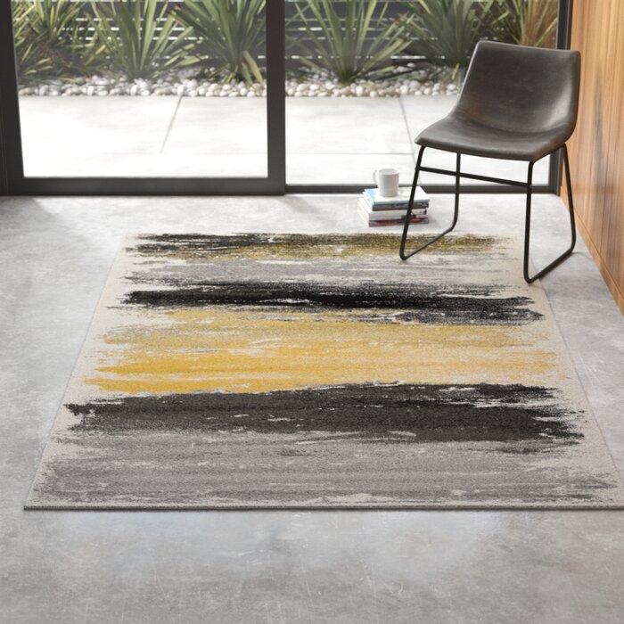 Shuff Gray Charcoal Area Rug