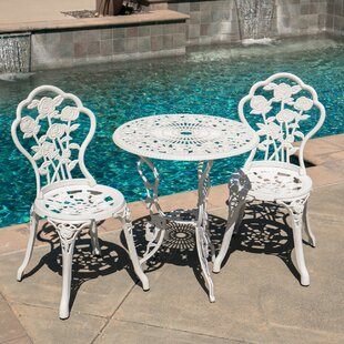 Belleze 3 Piece Bistro Set