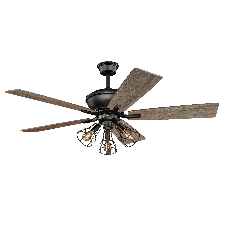 Vaxcel 52 Clybourn 5 Blade Ceiling Fan