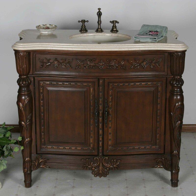 In Bathroom Vanity on 42 in kitchen sink, 42 in table, 42 in showers, 42 in vanities, 42 in mirrors, 42 in bookcase, 42 in cabinets, 42 in refrigerator,