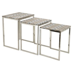 Empire Art Direct 3 Piece Nesting Tables