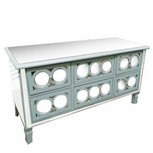 Compare prices Kensington Alluring 6 Drawer Accent Chest By Rosecliff Heights