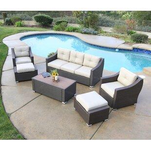 Latitude Run Leib Luxury 6 Piece Sofa Set with Cushion