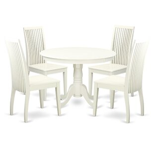 Travis 5 Piece Solid Wood Dining Set
