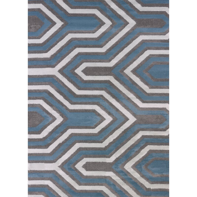 Modern Texture Cupola Charcoal Area Rug