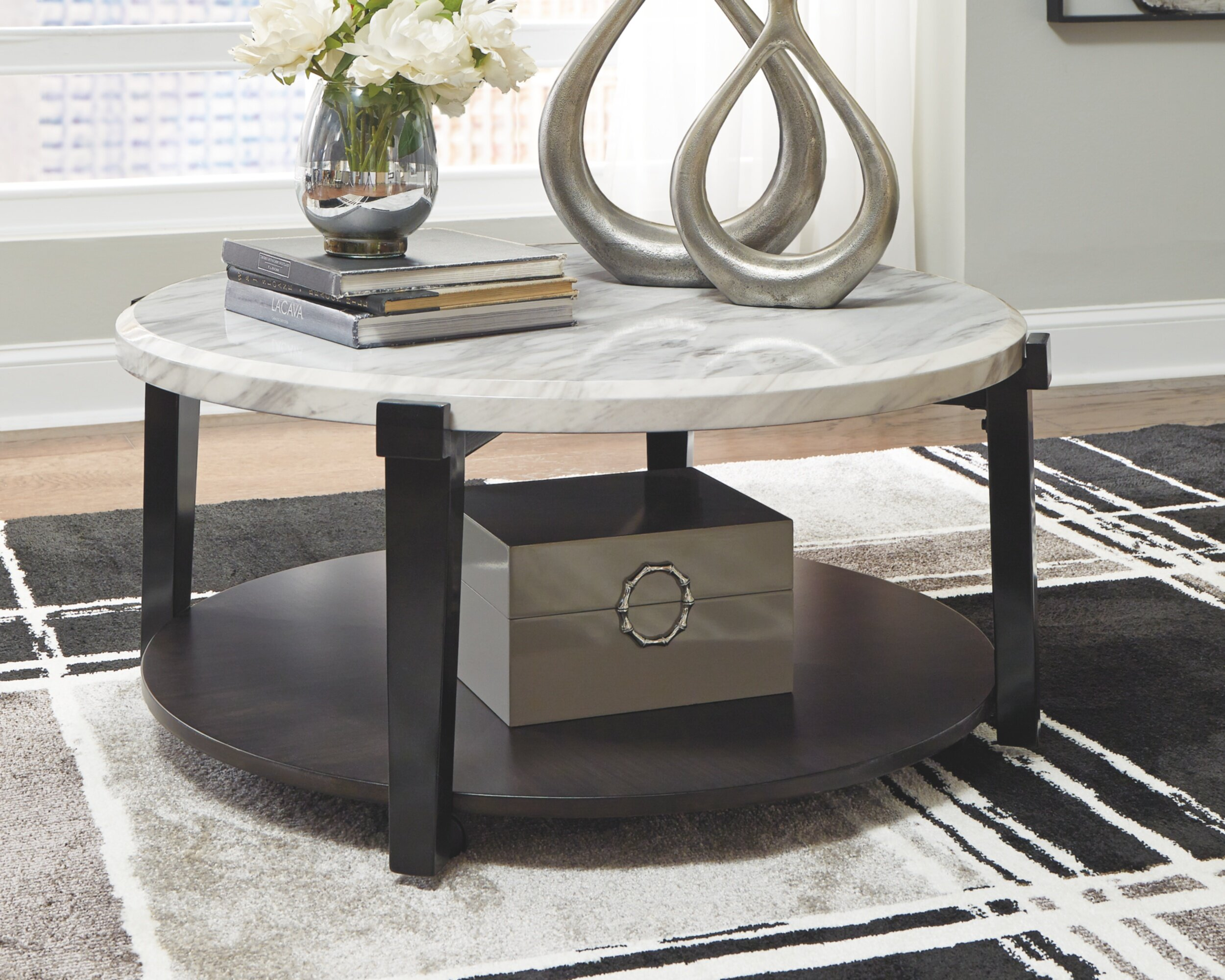 - Latitude Run Aleetha Floor Shelf Coffee Table & Reviews Wayfair