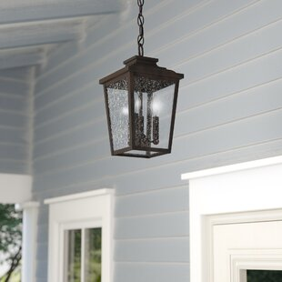 Price Check Mayhugh 3-Light Outdoor Hanging Lantern By Three Posts