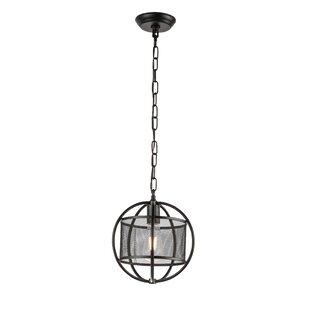 Williston Forge Child 1-Light Globe Pendant