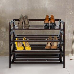 Compare & Buy 4-Shelf Folding Shoe Rack ByRed Barrel Studio