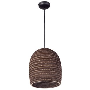 World Menagerie Lincoln 1-Light Bell Pendant