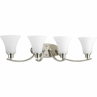 Check Prices Jilliann 4 Light Bath Vanity Light By Red Barrel Studio