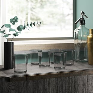 Gaige Simple Clear Dof 15.9 oz. Plastic Cocktail Glass (Set of 6)