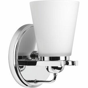 Atlantic 1-Light Bath Sconce by Ebern Designs