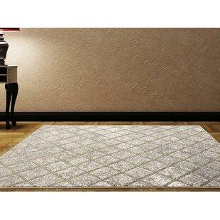 Dossantos Stain Resistant Gray Indoor/Outdoor Area Rug
