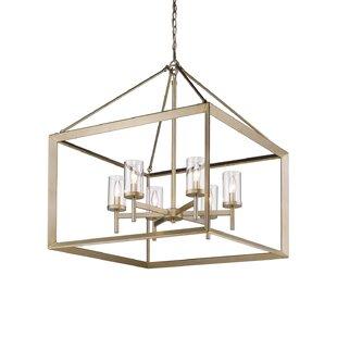 Modern contemporary foyer chandelier allmodern thorne 6 light foyer pendant aloadofball Image collections