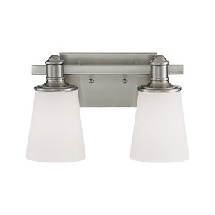 Savings Cimmaron 2-Light Vanity Light By Millennium Lighting