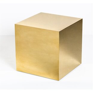 Aubrey Cube End Table by Interlude